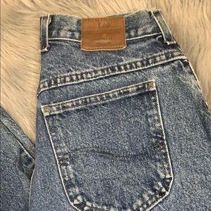 Vintage lee jeans tapered leg size 12